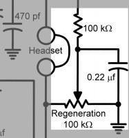 The AA8V Twinplex Regenerative Receiver - schematic