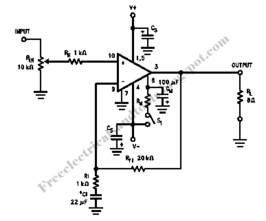 audio amplifier circuit page 28   audio circuits    next gr