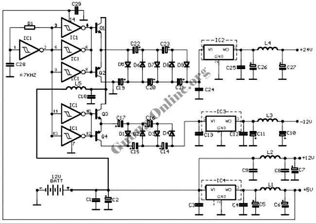 Isolated RS422 Interface Circuit