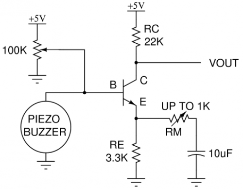 piezoelectric amplifier circuit under repository-circuits