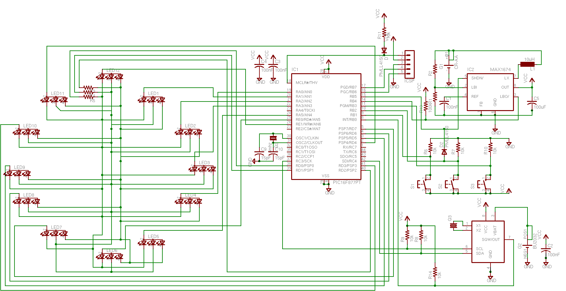 usb joystick - schematic