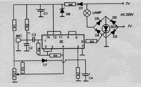 Results page 115, about 'sound switch'  Searching circuits