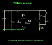 FM Radio Jammer circuit diagram Circuit Schematic With Explnation - schematic