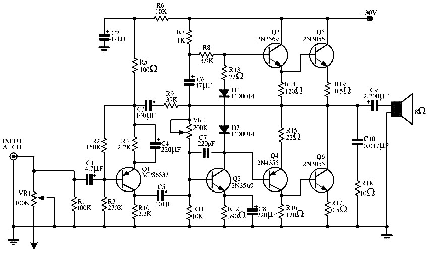 audio power amplifier circuit 140 w   repository