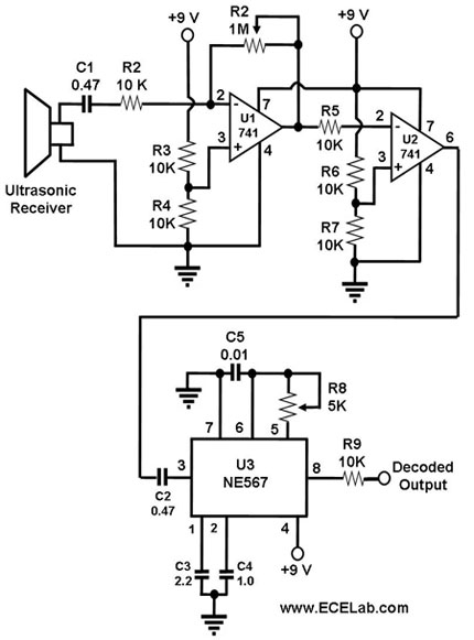 ultrasonic circuit page 7   audio circuits    next gr
