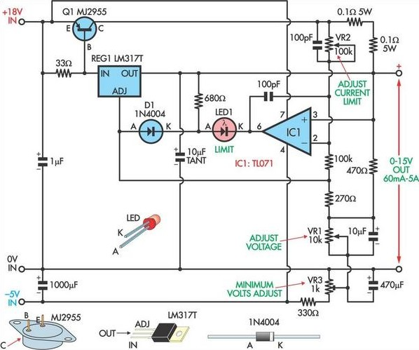 Applications Of Zener Diodes in addition What Is Voltage Stabilizer How It Works furthermore Cheap Adjustable 0 30v 3a Laboratory Dc Power Supply together with Wiring Diagram For A 12 T also Transformer Less Power Supply Microcontrollers. on ac voltage regulator circuit diagram