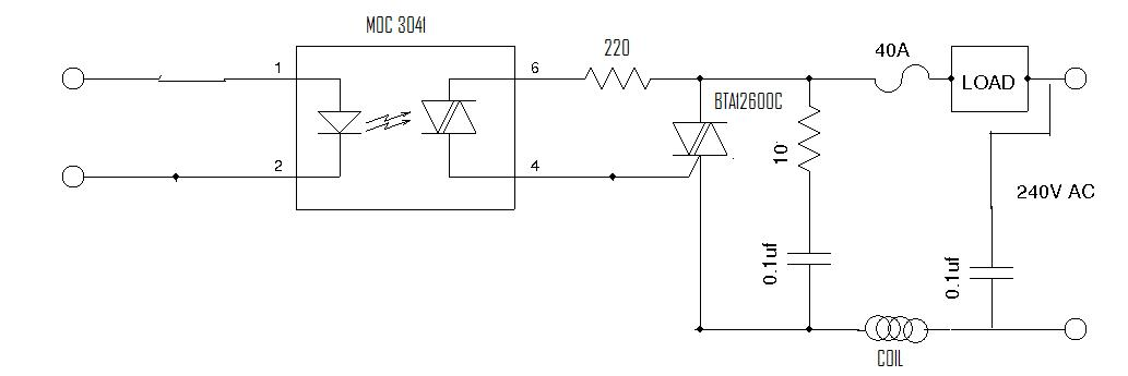 Troubleshooting a Triac Motor Control Circuit