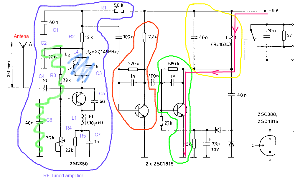 signal Can someone break down how this receiver works - schematic