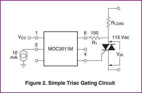 opto isolator Optotriac+triac: how do I calculate the gate resistor - schematic