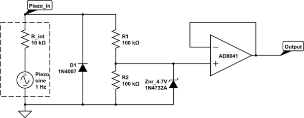 Avr Piezoelectric Sensor And The Adc Repository Next