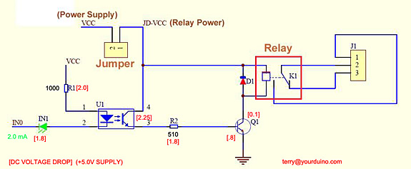 arduino Relay takes time to close - schematic