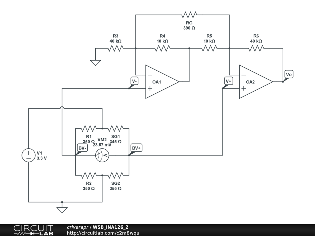 Arduino Circuit Page 5 Microcontroller Circuits How To Read A Logic Diagram Instrumentation Amplifier Wheatstone Bridge Negative Voltage With