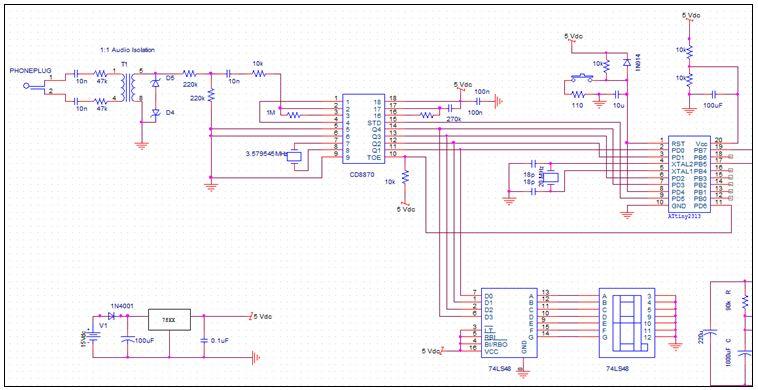 dtmf circuit : Telephone Circuits :: Next gr