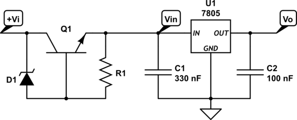 Is my zener diode labeled wrong or am i seeing a strange failure mode - schematic