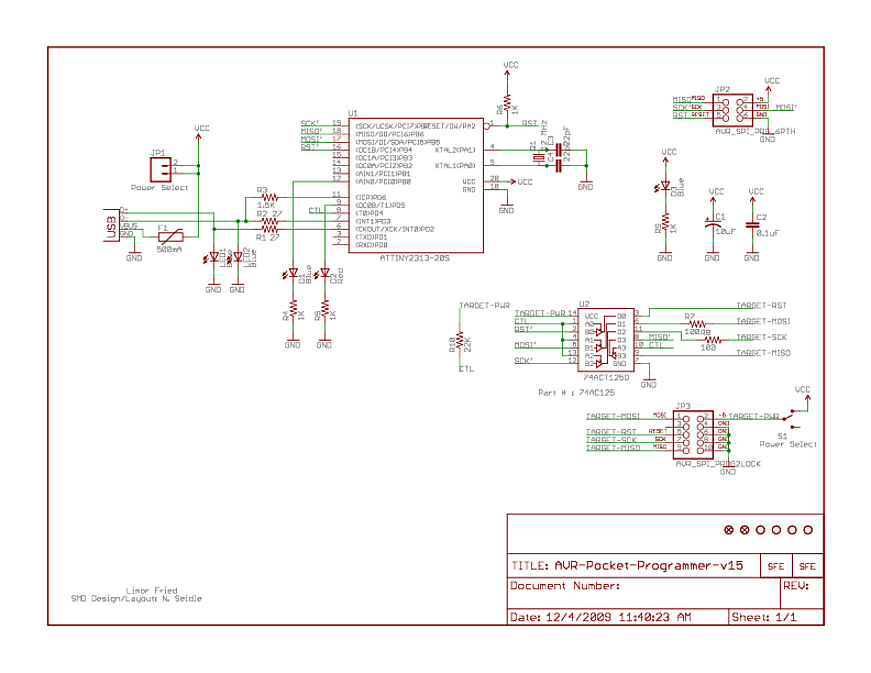 avr What is the point of Buffers like this in Programmers - schematic