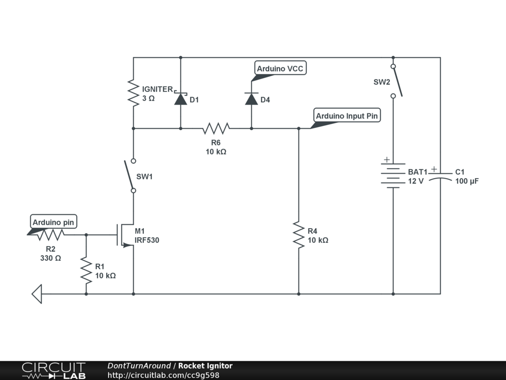arduino wiring an illuminated toggle switch under. Black Bedroom Furniture Sets. Home Design Ideas