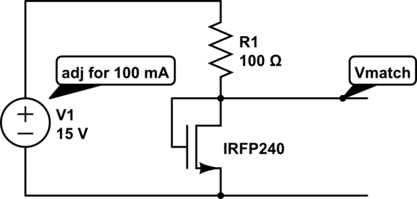motor Matching mosfets linear servo amplifier (AB) - schematic