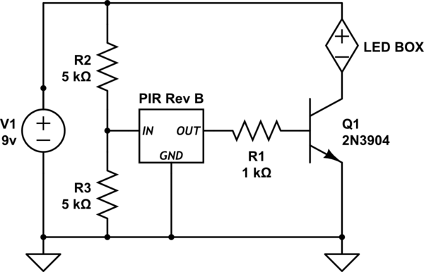 voltage How to amplify 3.3 volts to 8-9v