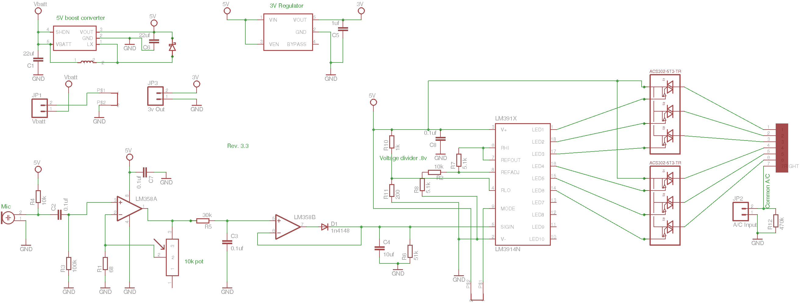 Vu Meter Circuit Page 3 Counter Circuits Http Circuitdiagramhqewnet Adjustablevoltageregulatorcircuit