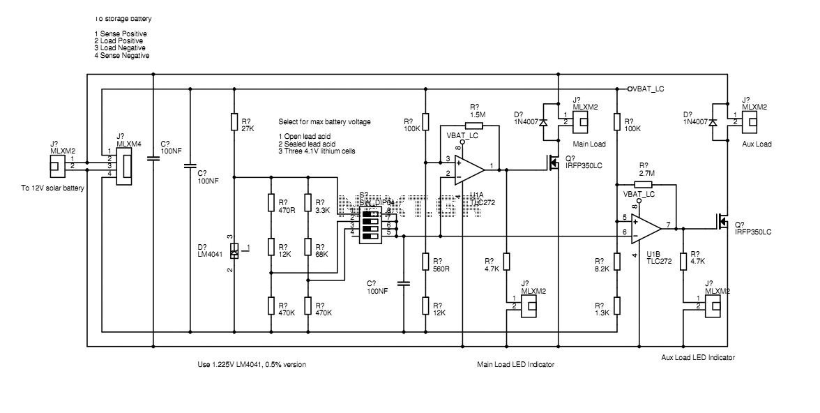 Solar Battery Regulator/Controller
