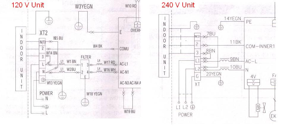 Mini Split Acs - schematic
