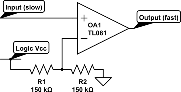 Logic Circuits Vs Transistor Power Circuits - schematic