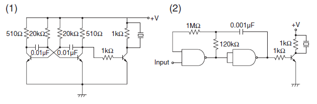 Can I supply a 12V buzzer with 18V - schematic