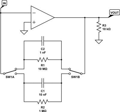op amp Why do some of my IE converter circuits have a large offset voltage