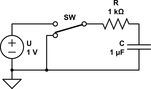 capacity Computing Current from known Capacitance and Time to Charge to Known Voltage