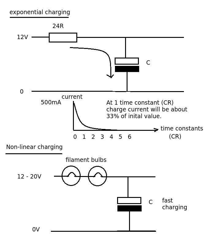 Transistor current limit circuit power handling - schematic