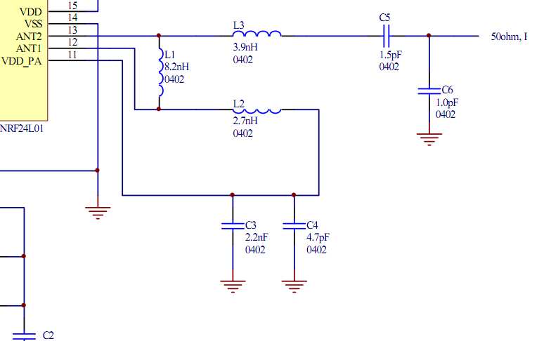rf Can I merge two impedance matching circuits