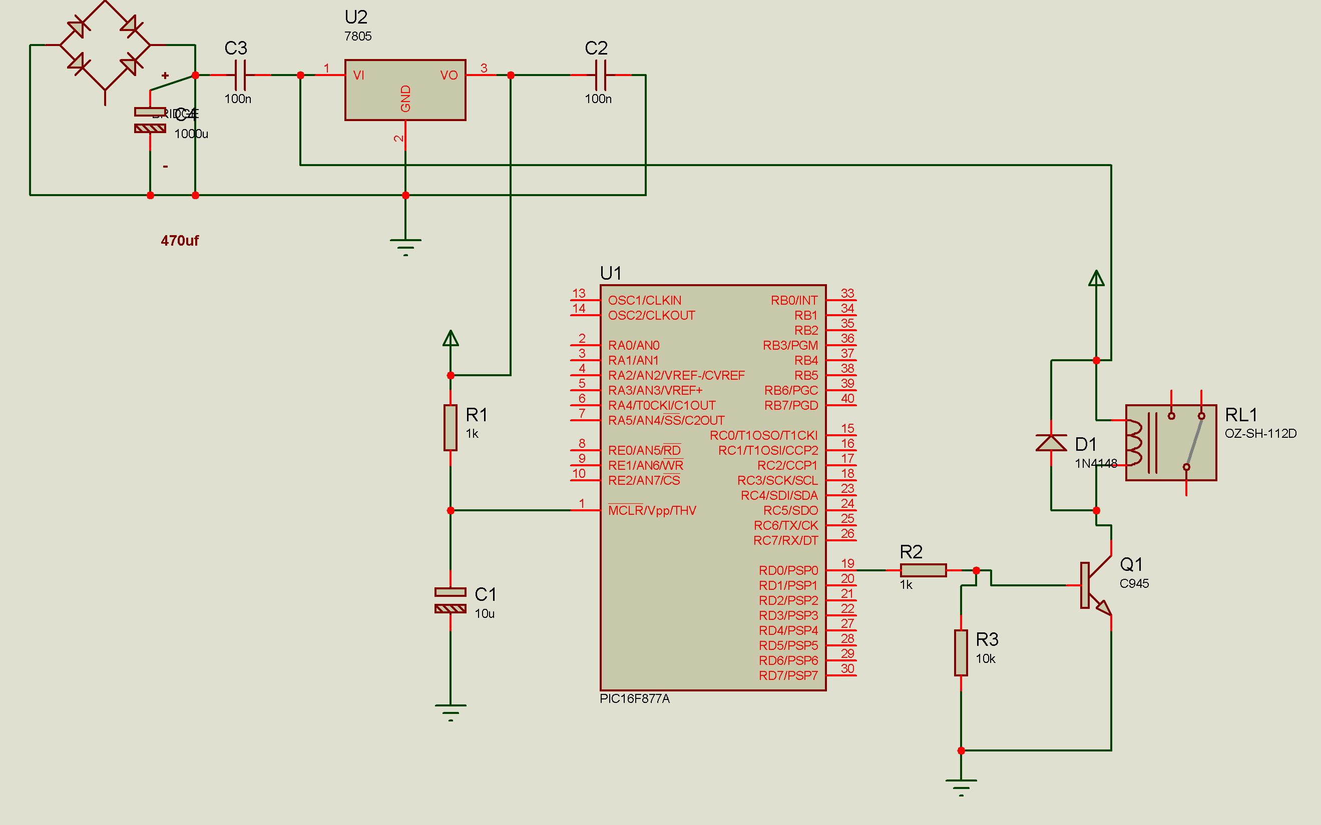 Pic Microcontroller Circuit Page 6 Circuits 8051 8052 3 Nextgr Pic16f877a Resets Due To External Noise
