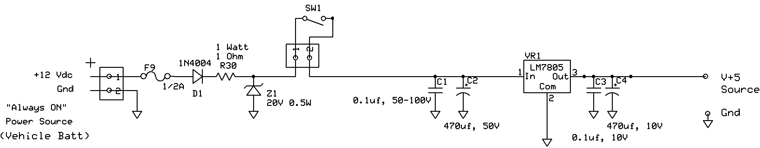 Car Circuit Page 6 Automotive Circuits Function Generator Automotivecircuit Diagram Capacitor Explaining A Voltage Regulator