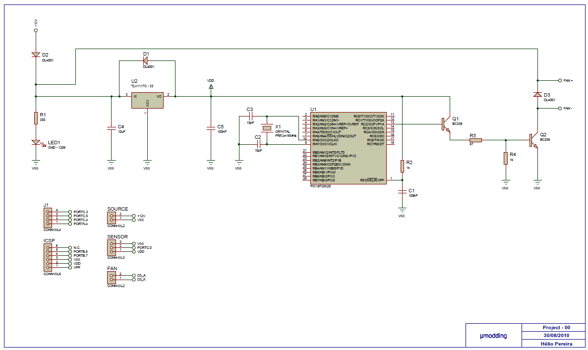 Motor Control Circuit Page 8 Automation Circuits Ultrasonic 2 Audio Nextgr 12v Fan Controller With Pic18f25k20