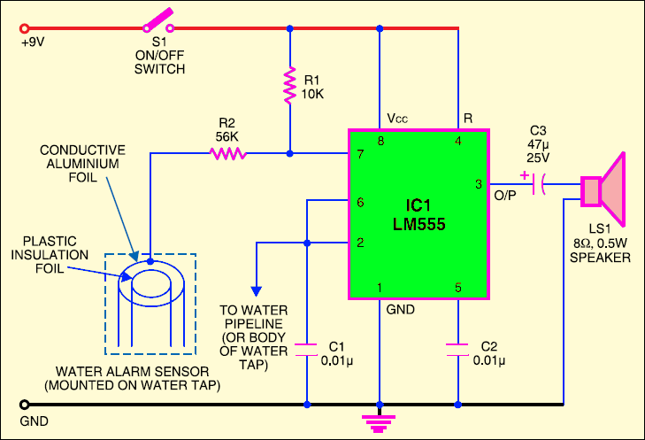 mini projects - schematic