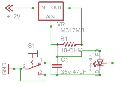 diy 100 phr 803t violet laser - schematic
