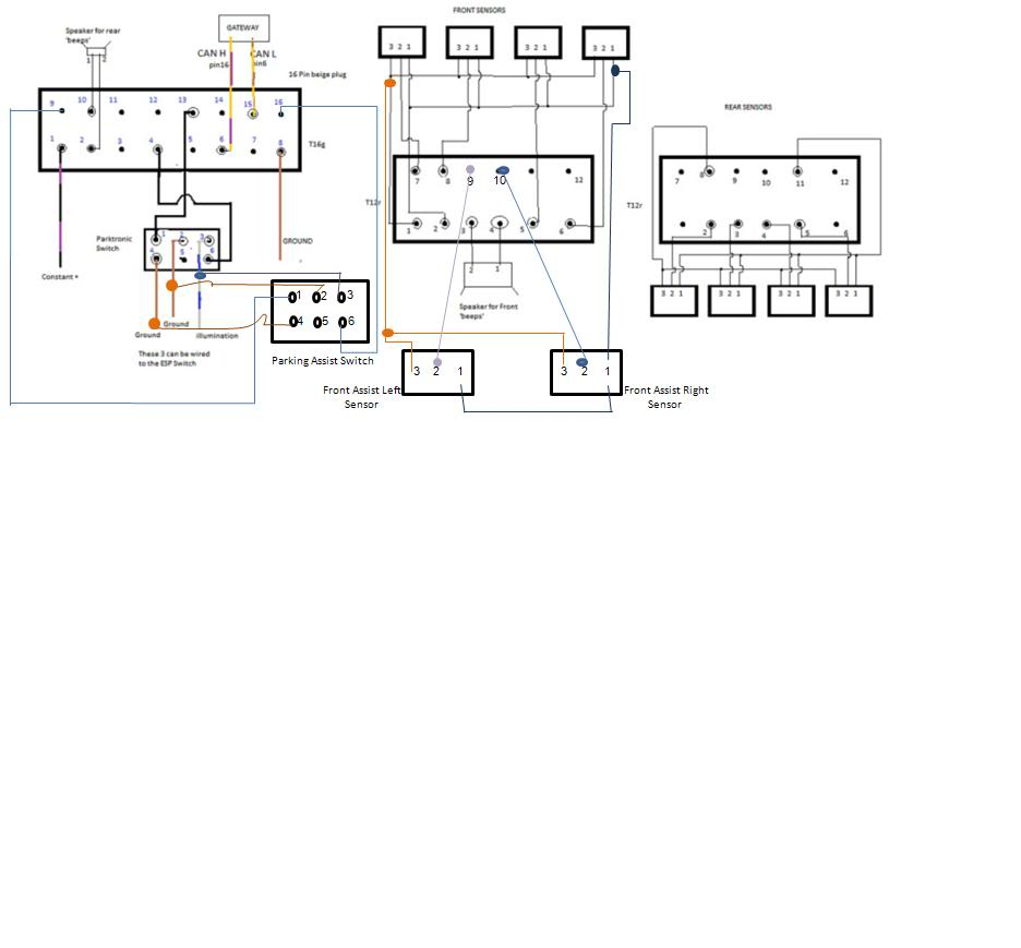 Results Page 6 About Sensors Searching Circuits At Doorbell Circuit 2 Other Nextgr Park Assist Retrofit
