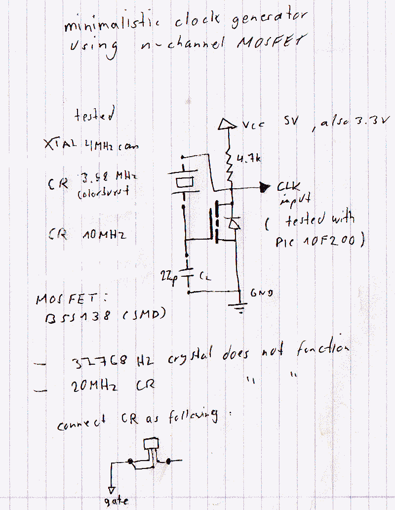 Electronic Circuits Page 271 Multivibrator Circuit Ideals Simple Crystal Oscillator 32768 Hz Quartz