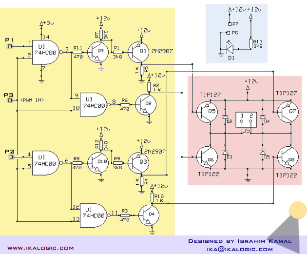 Драйвер двигателя постоянного тока своими руками на транзисторах 47