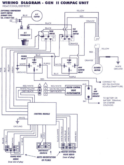 Antique Car Wiring Schematic - Wiring Diagrams Blogpalox-france.fr