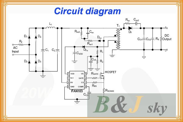 Led Lamp Driver Circuit Diagram | Circuits Led Power Supply Dc10 12v Constant Voltage Current