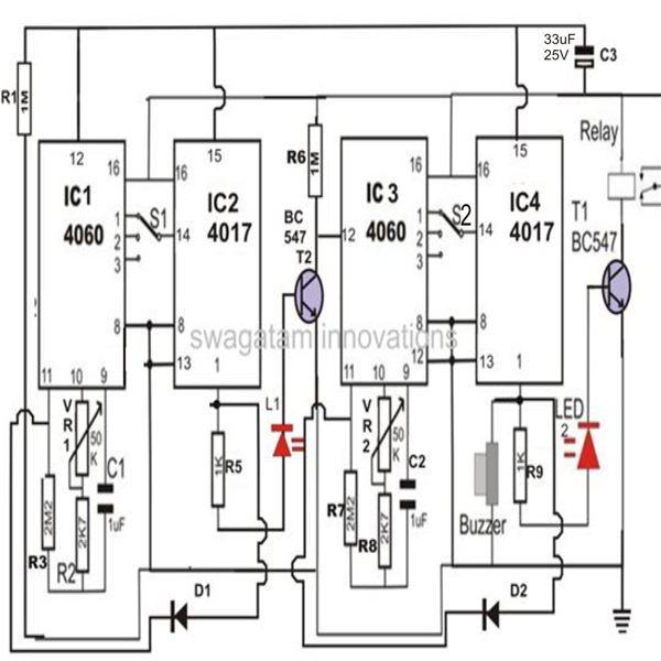 make a versatile programmable timer counter circuit under