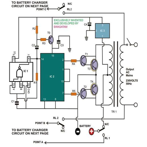 How To Draw Schematic Circuit Diagram | Homemade Ups Circuit Diagram Alo Qrac Uk