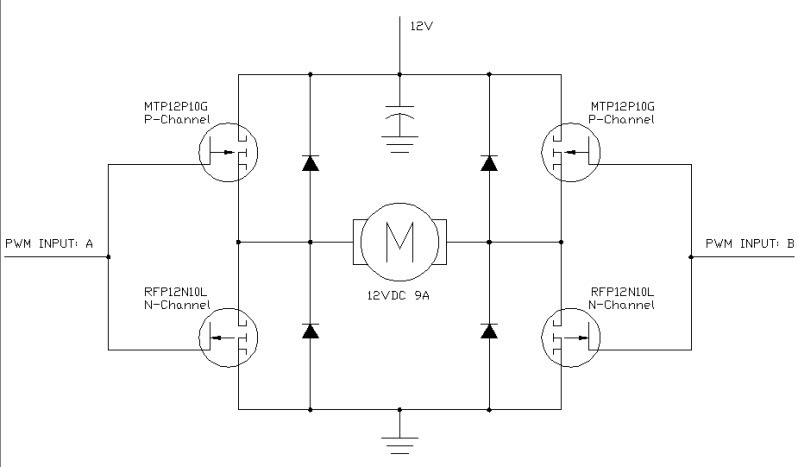 Arduino circuit page 5 microcontroller circuits for H bridge dc motor driver