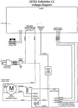 tread3 electronic circuits page 27 next gr treadmill motor wiring diagram & testing procedures at bayanpartner.co