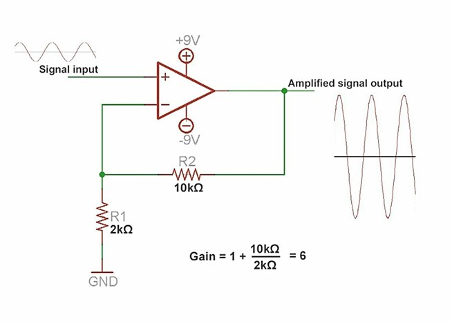 amplify voltage and build microphone circuit - schematic