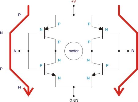 h-bridge circuit : other circuits :: next.gr,