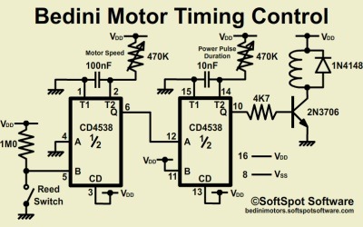 Bedini Motors - schematic