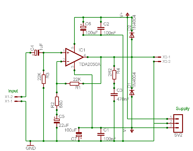 audio amplifier circuit page 24 audio circuits next gr 3 channel audio amplifier circuit