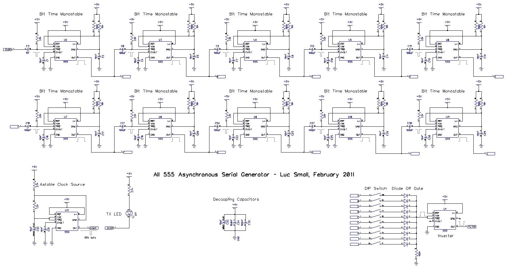 Results Page 47 About Clock 555 Searching Circuits At Wide Range Vco Circuit Schematic Contest Entry An Asynchronous Serial Generator